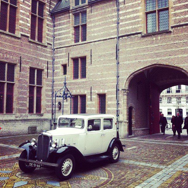 Citroën Rosalie Markiezenhof in Bergen op zoom