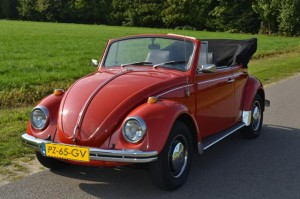 Volkswagen Kever Rood